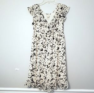 Converse One Star Floral Black and White Dress S